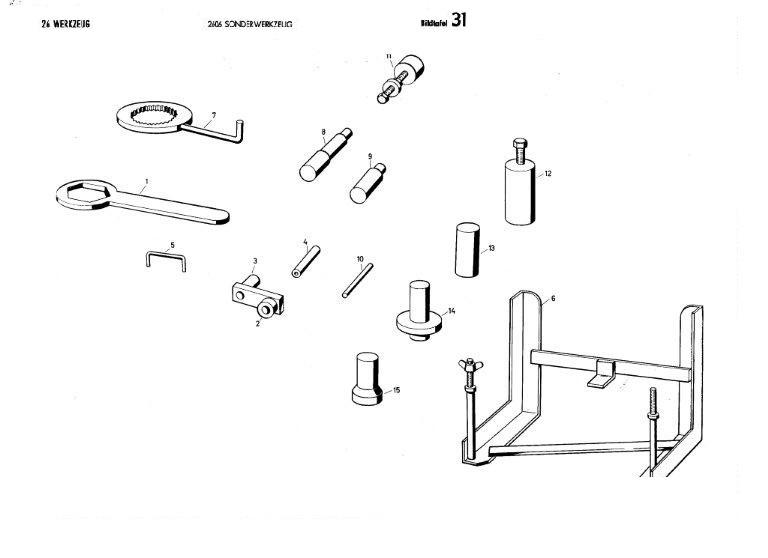 B31 - Sonderwerkzeug
