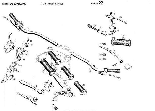 B22 - Lenkeranbauteile