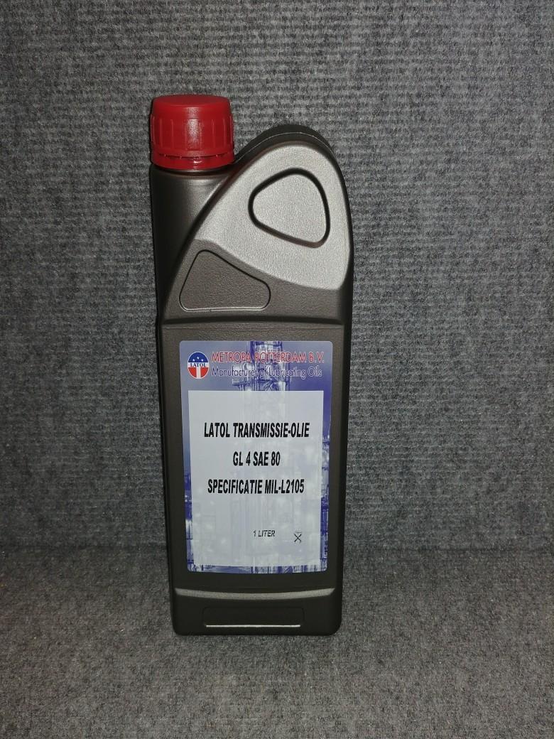 Getriebe Oil, SAE 80, GL4 1 Liter